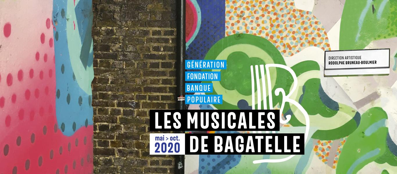 Les Musicales de Bagatelle - Génération Fondation Banque Populaire