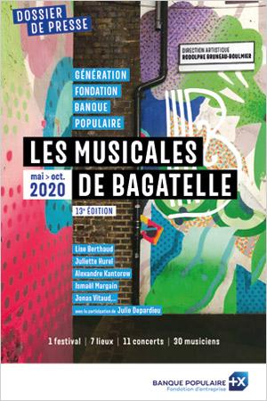 image Dossier de presse - Musicales de Bagatelle 2020