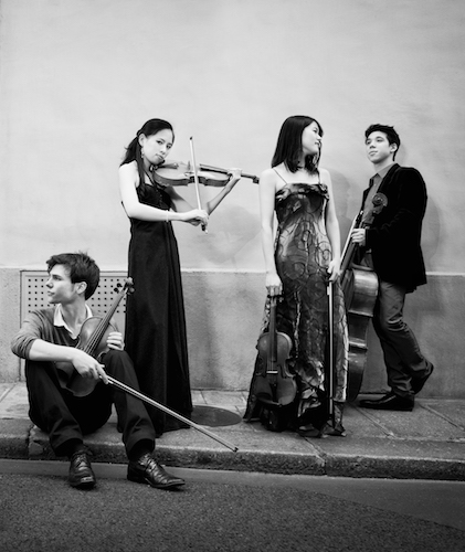 photo du laureat  Quatuor Hermès