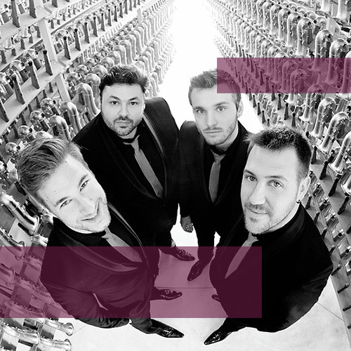 photo Quatuor MORPHING