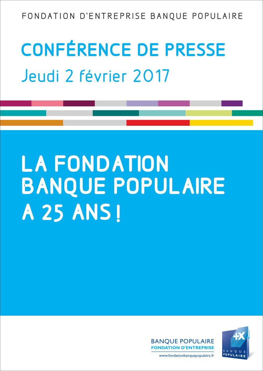 Conférence de presse - 25 ans de la Fondation