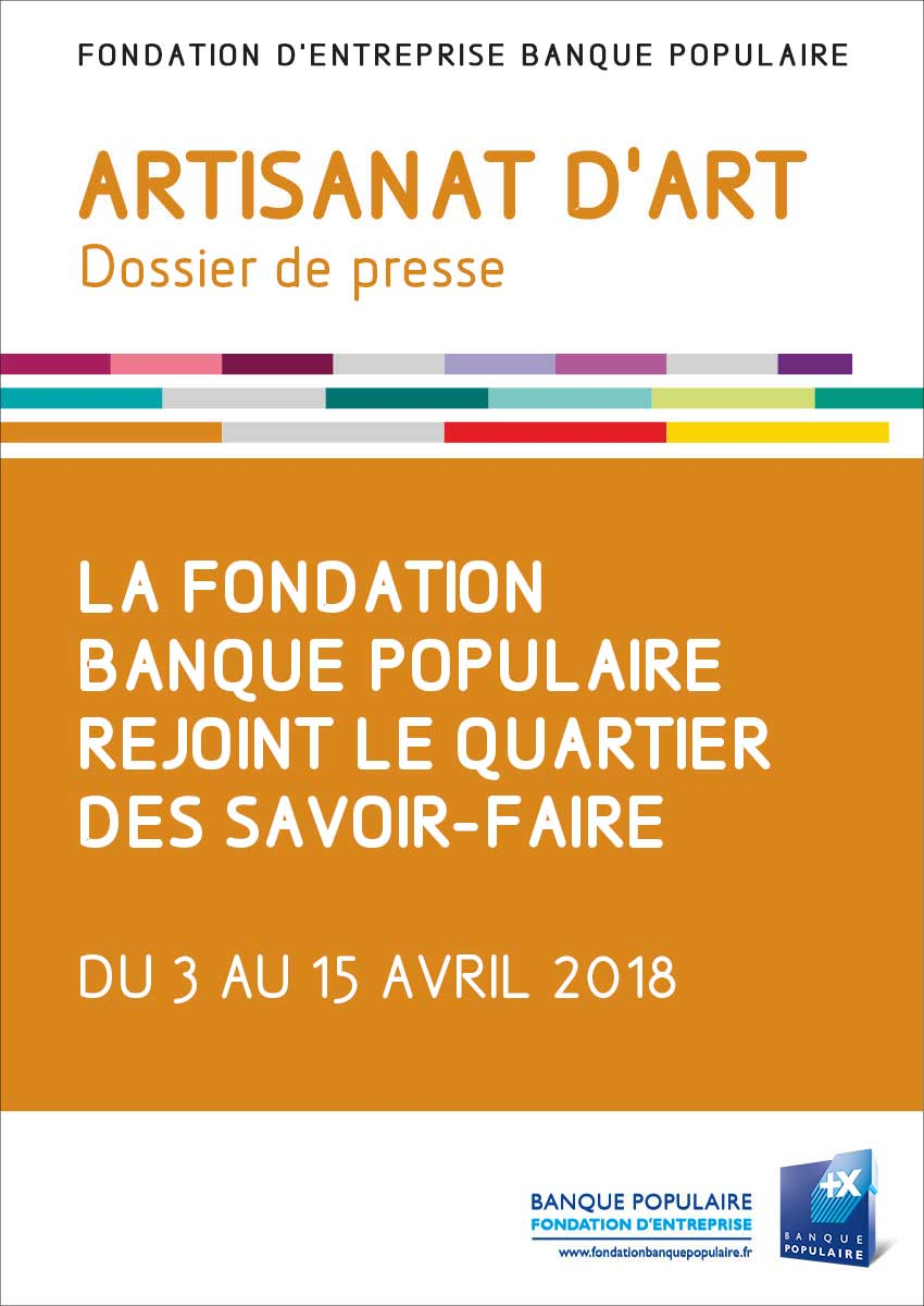 Dossier de presse - Quartier des savoir-faire - Jema 2018