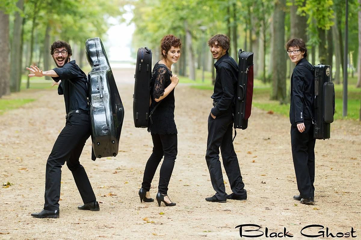 Quatuor HANSON concert sortie disque