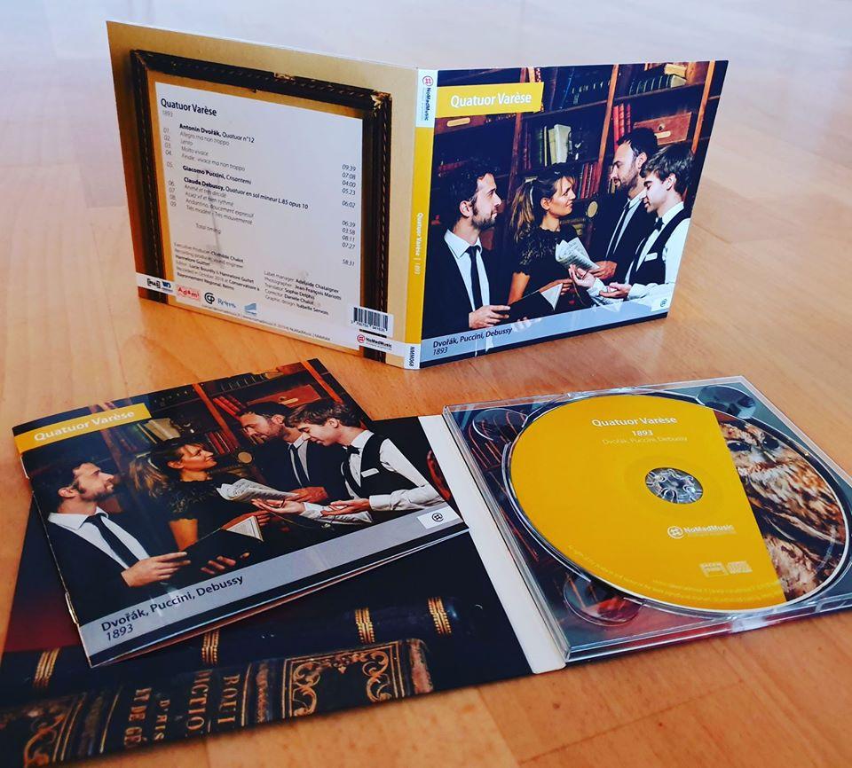 Sortie du disque QUATUOR VARESE