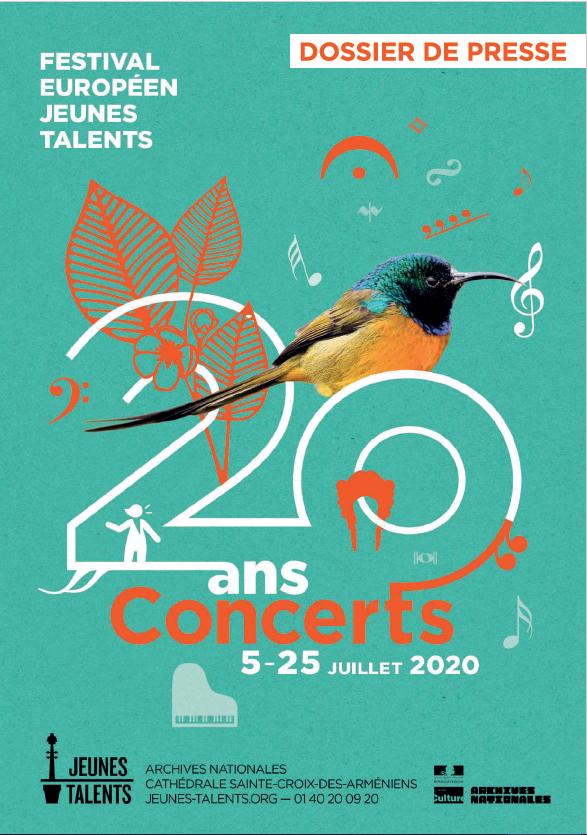 Trio Karénine & Raphaël Sévère pour le festival Jeunes Talents