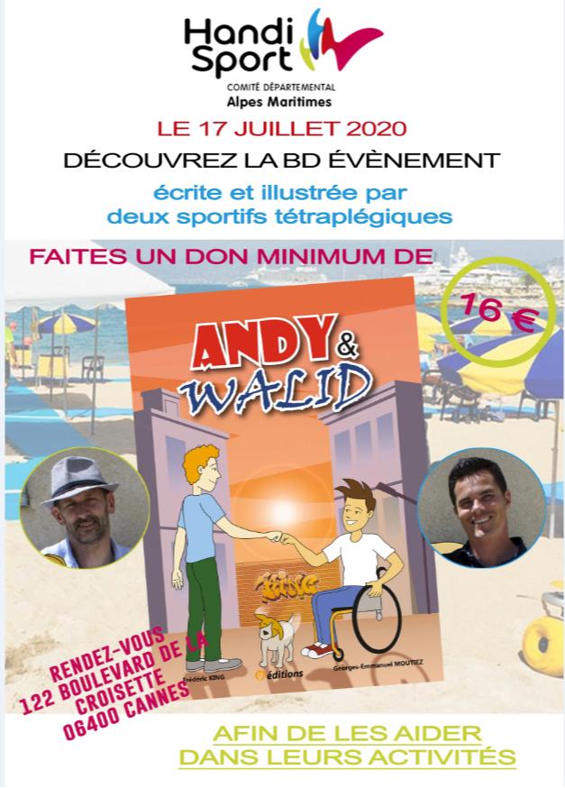 Présentation BD Andy & Walid