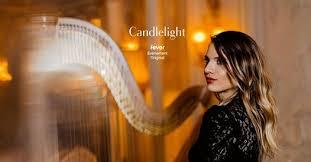 Alexandra LUICEANU à la lueur des bougies