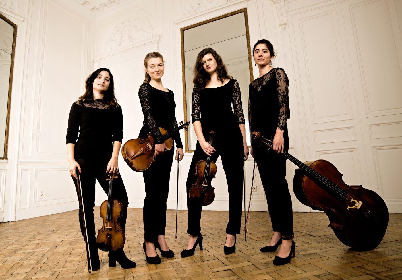 Quatuor AKILONE pour les concerts de poche