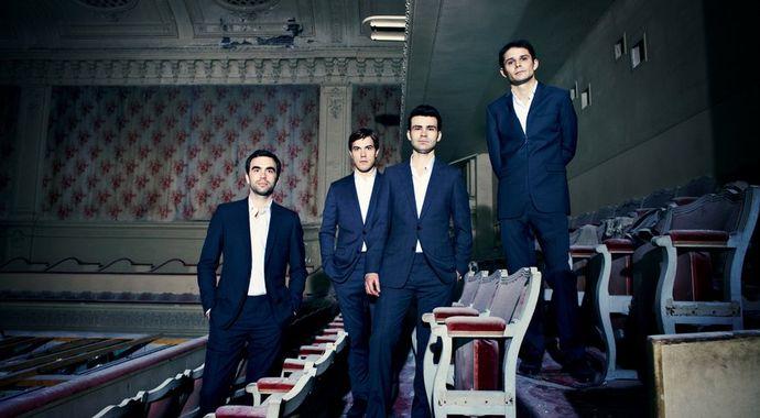 Quatuor MODIGLIANI pour les concerts de poche