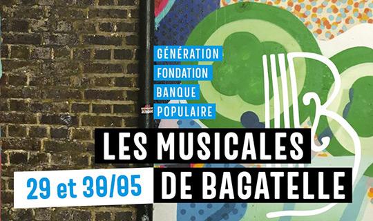 LES MUSICALES DE BAGATELLE